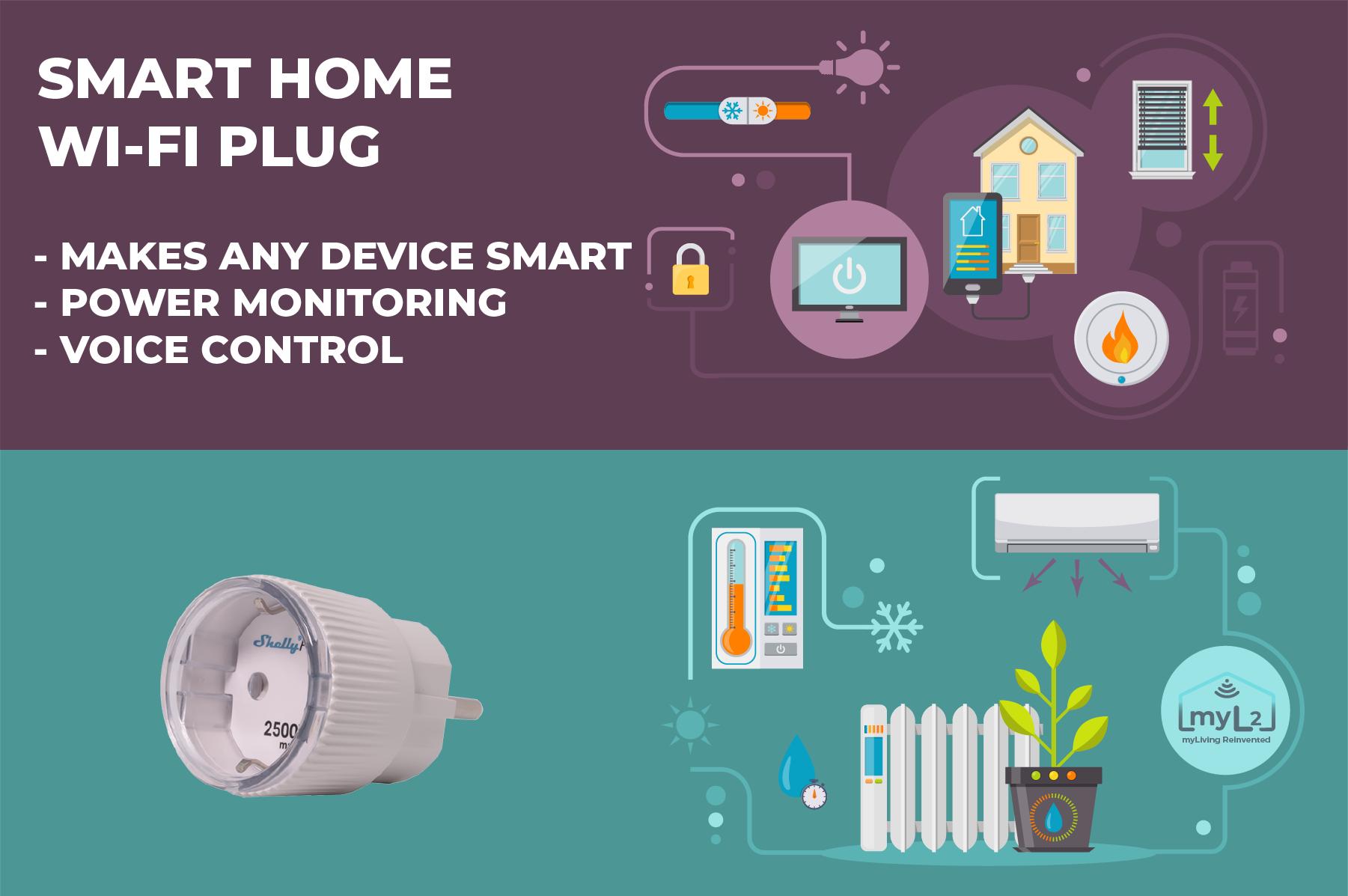 smart plug shelly plug s wifi