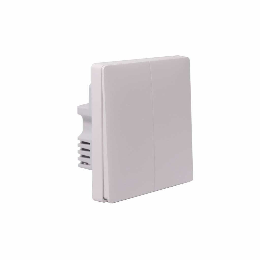 wall switch with two buttons no neutral wire xiaomi aqara zigbee