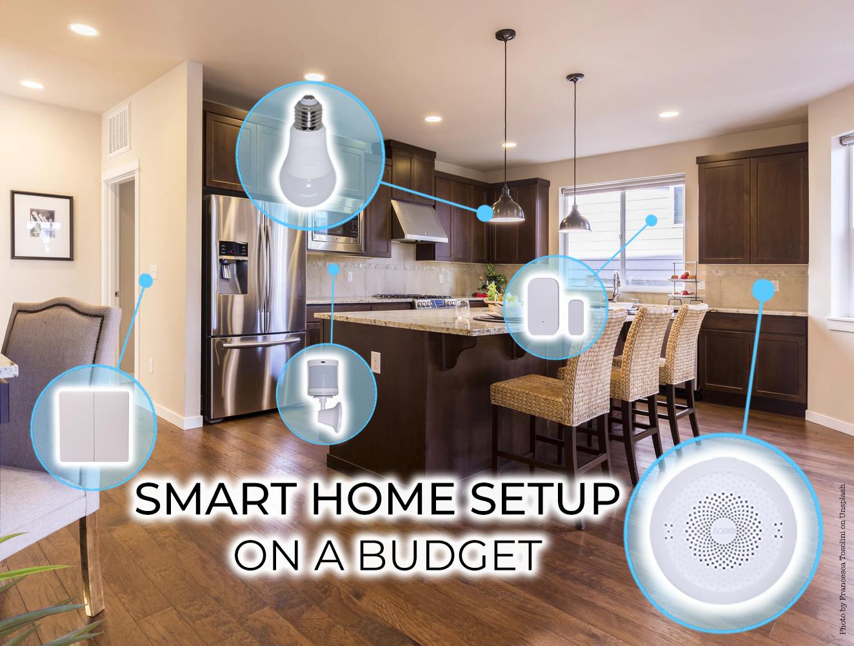 smart home on a budget