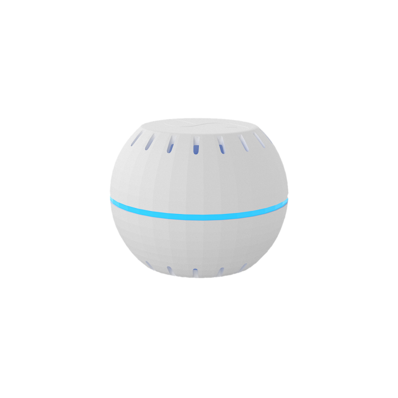 wifi temperature and humidity sensor shelly white