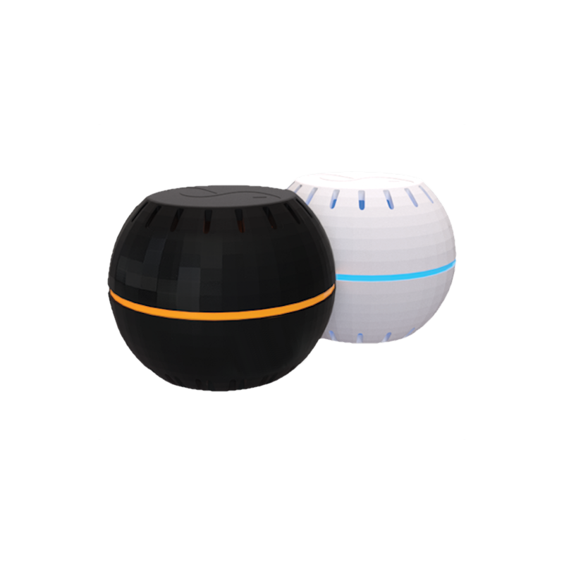 wifi temperature and humidity sensor shelly white black