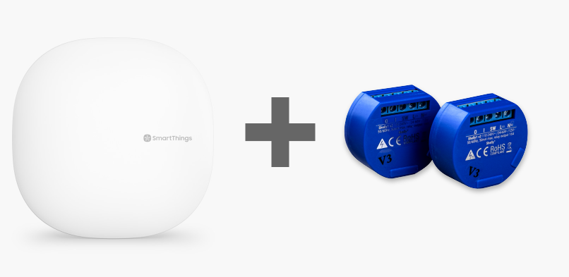 Shelly1 – Integrare cu Samsung SmartThings