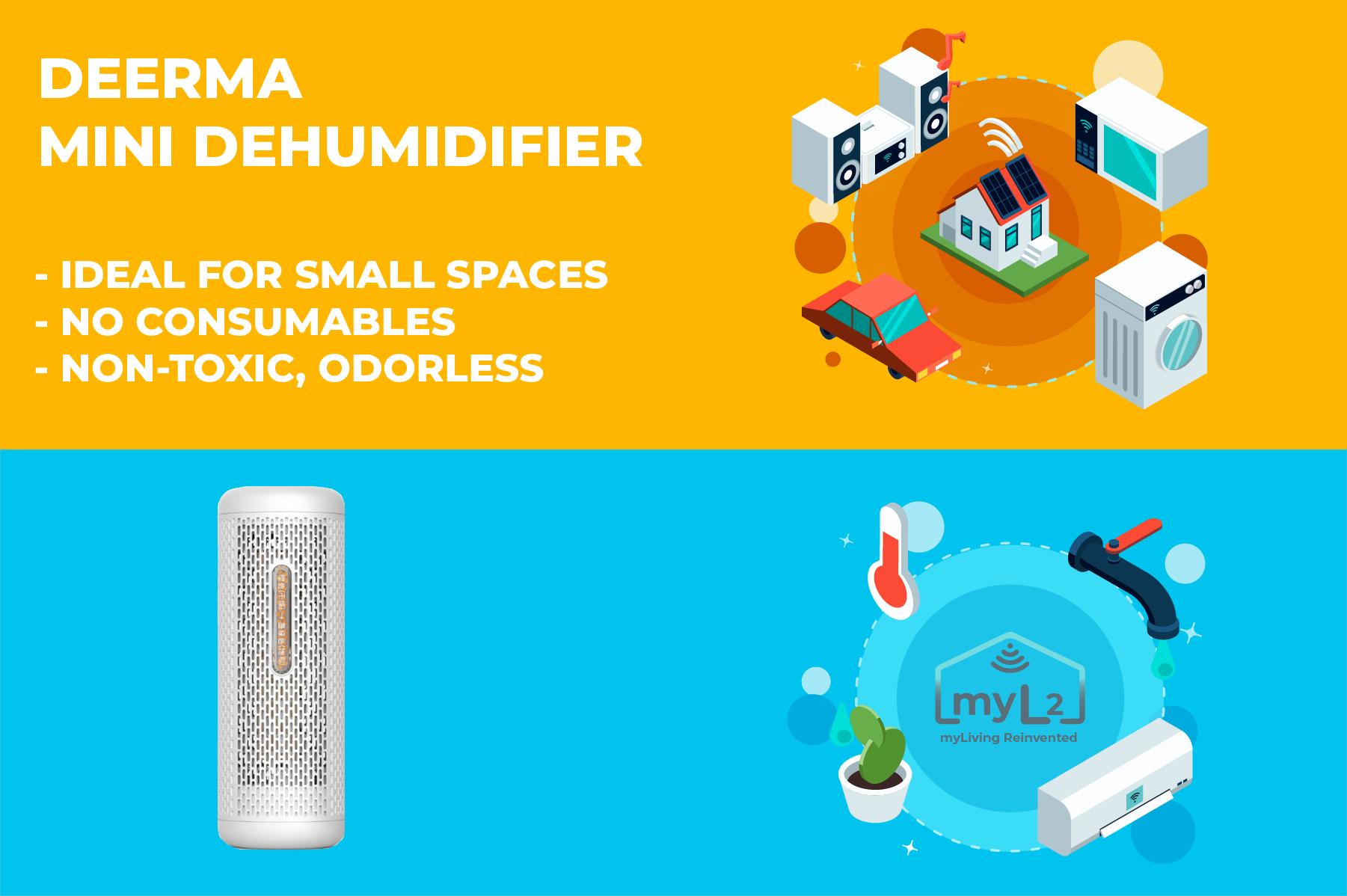 deerma mini dehumidifier xiaomi