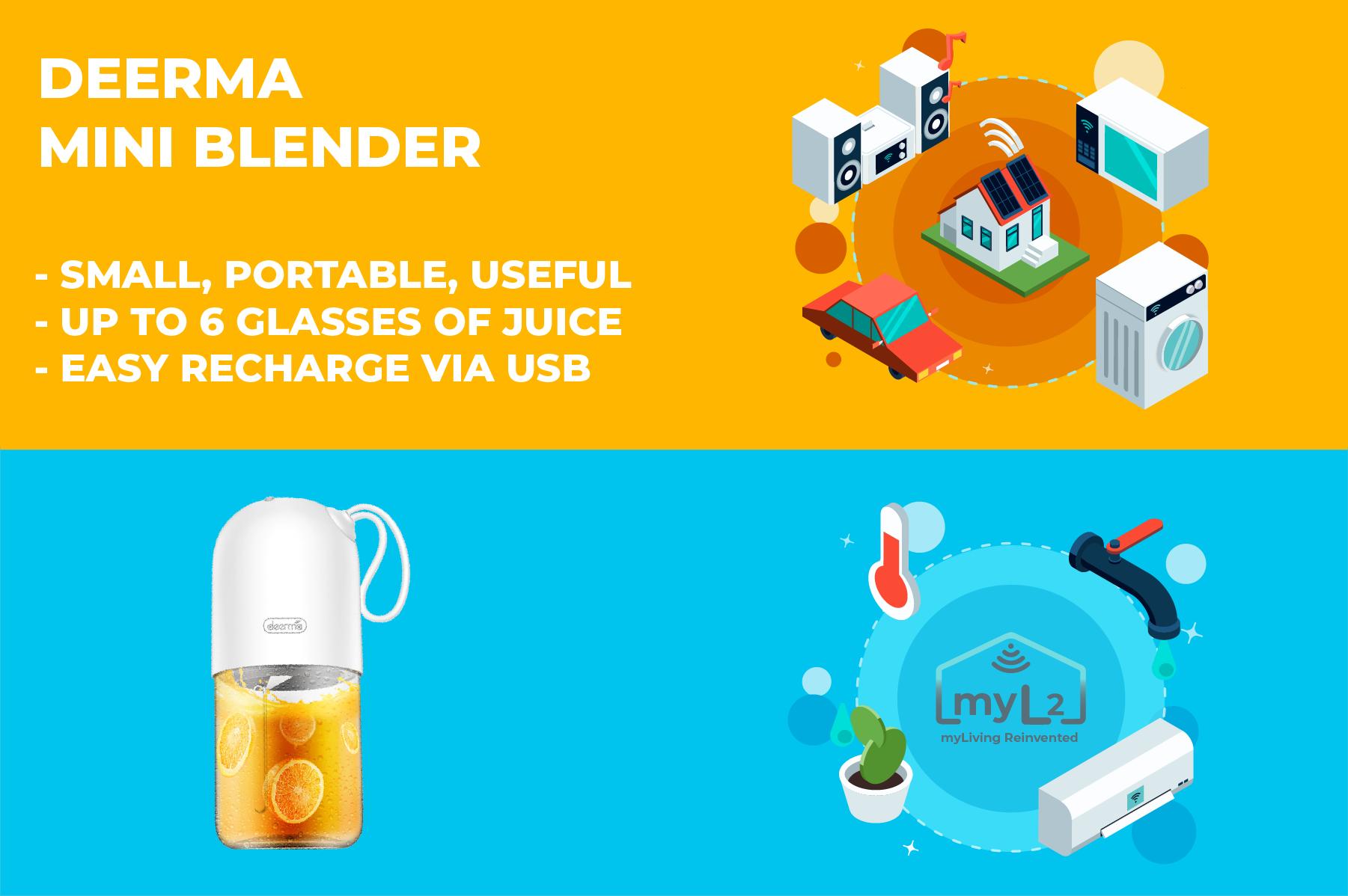 mini juice blender xiaomi deerma