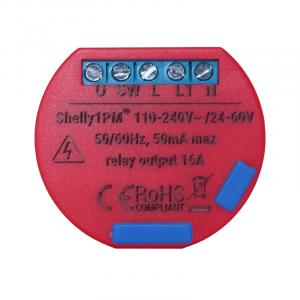 releu shelly 1pm smart wifi pentru automatizari monitorizare consum