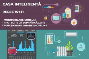 shelly1 pm shelly 2.5 relee smart wifi pentru automatizari si monitorizare consum