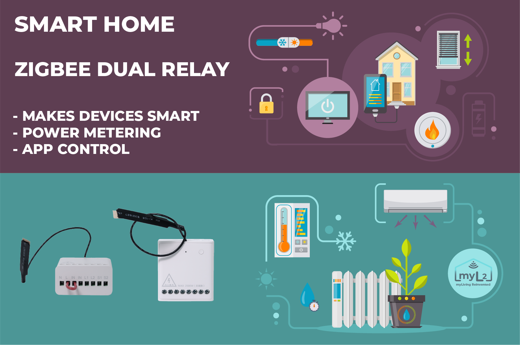 aqara dual zigbee smart relay xiaomi