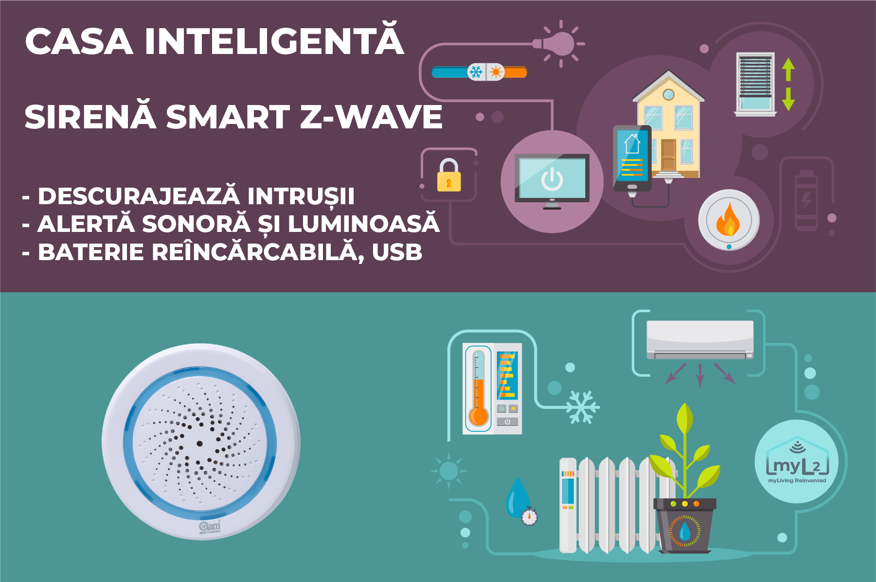 sirena smart zwave neo coolcam