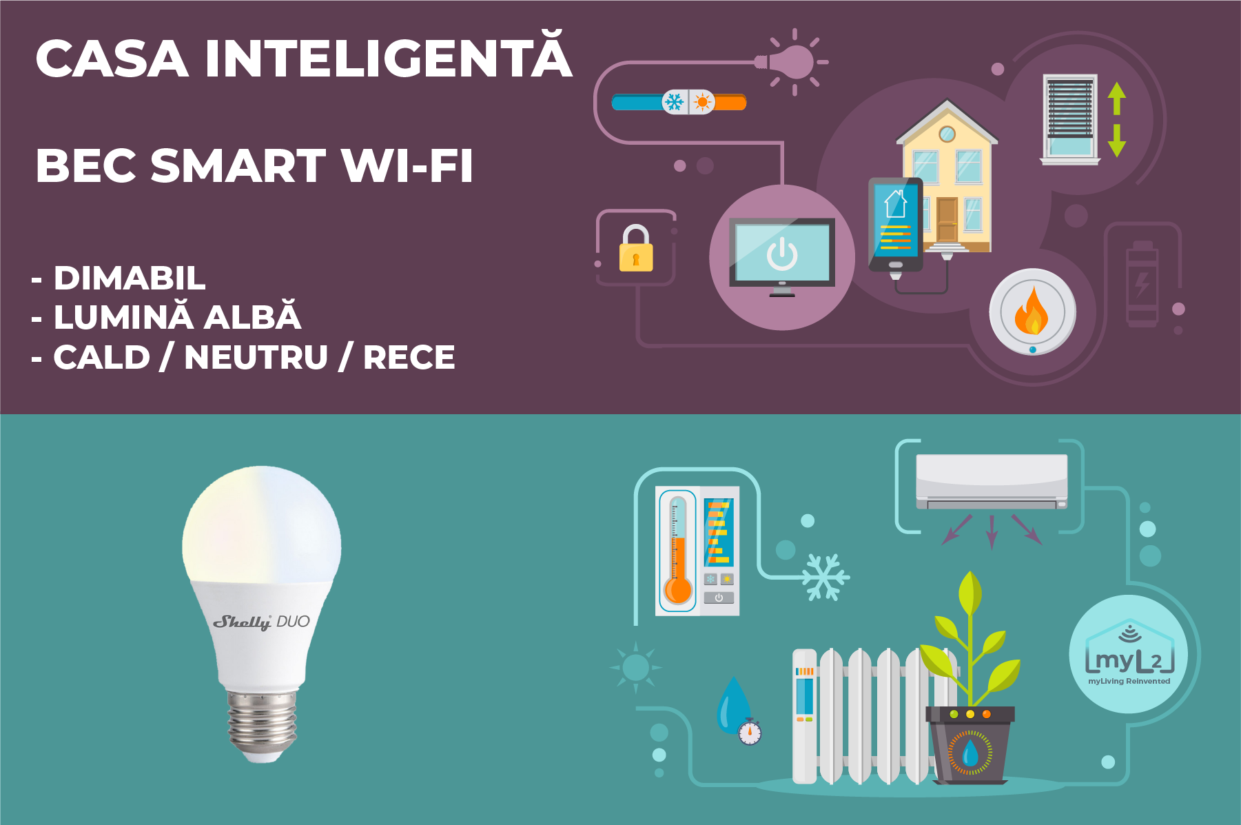 bec smart shelly duo e27 9w wifi xiaomi aqara