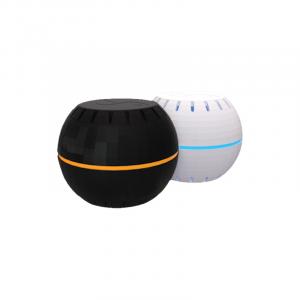 senzor de temperatura si umiditate wifi shelly alb negru