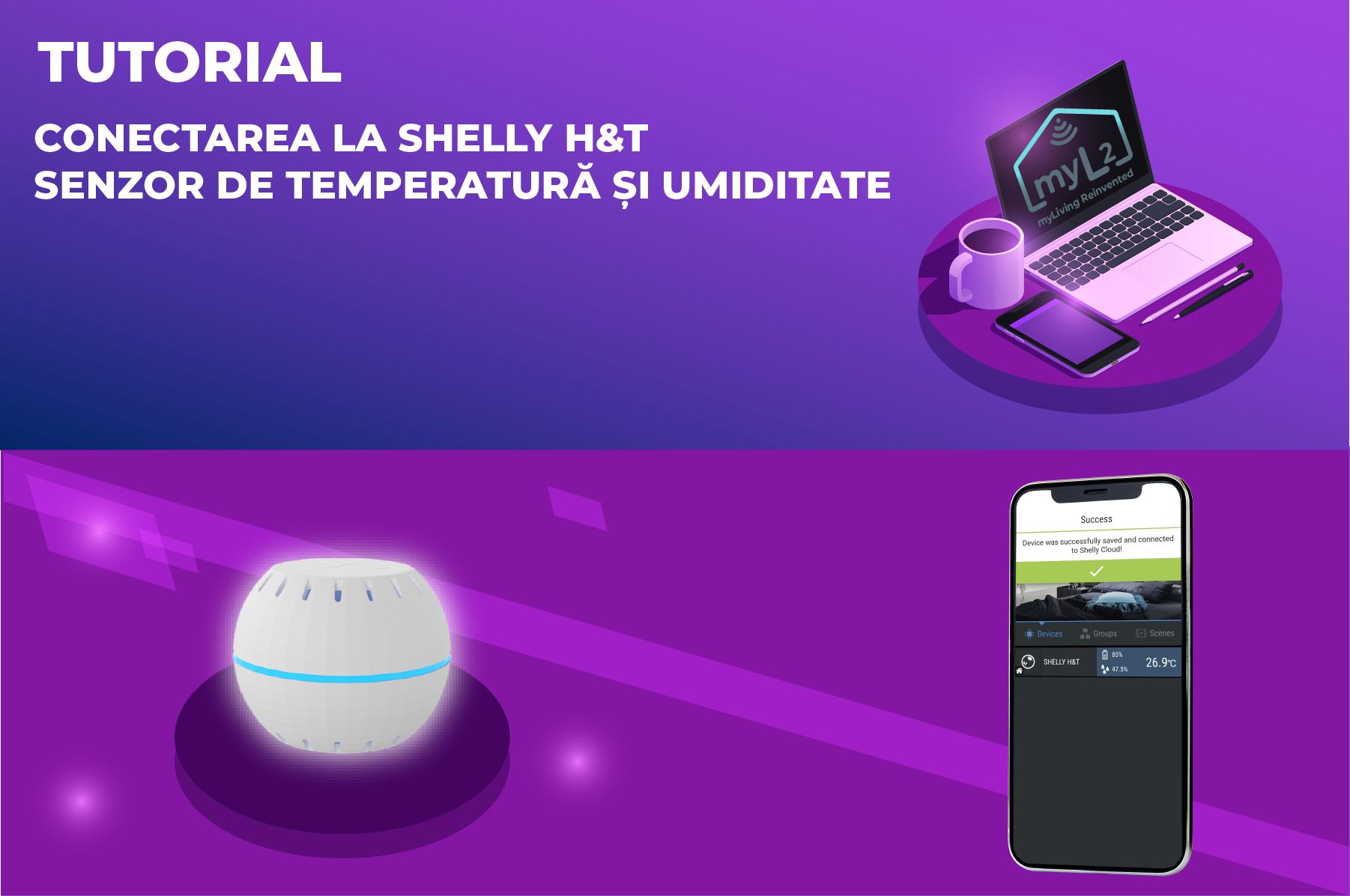 tutorial senzor de temperatura umiditate wifi shelly