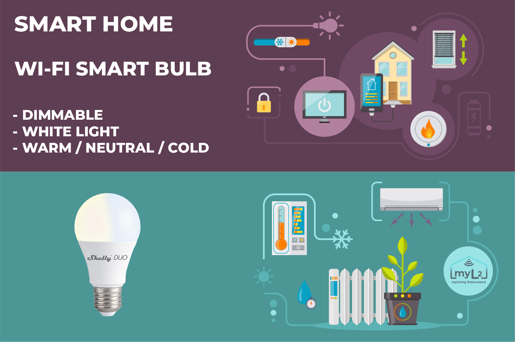 wifi smart bulb shelly duo e27 9w xiaomi aqara