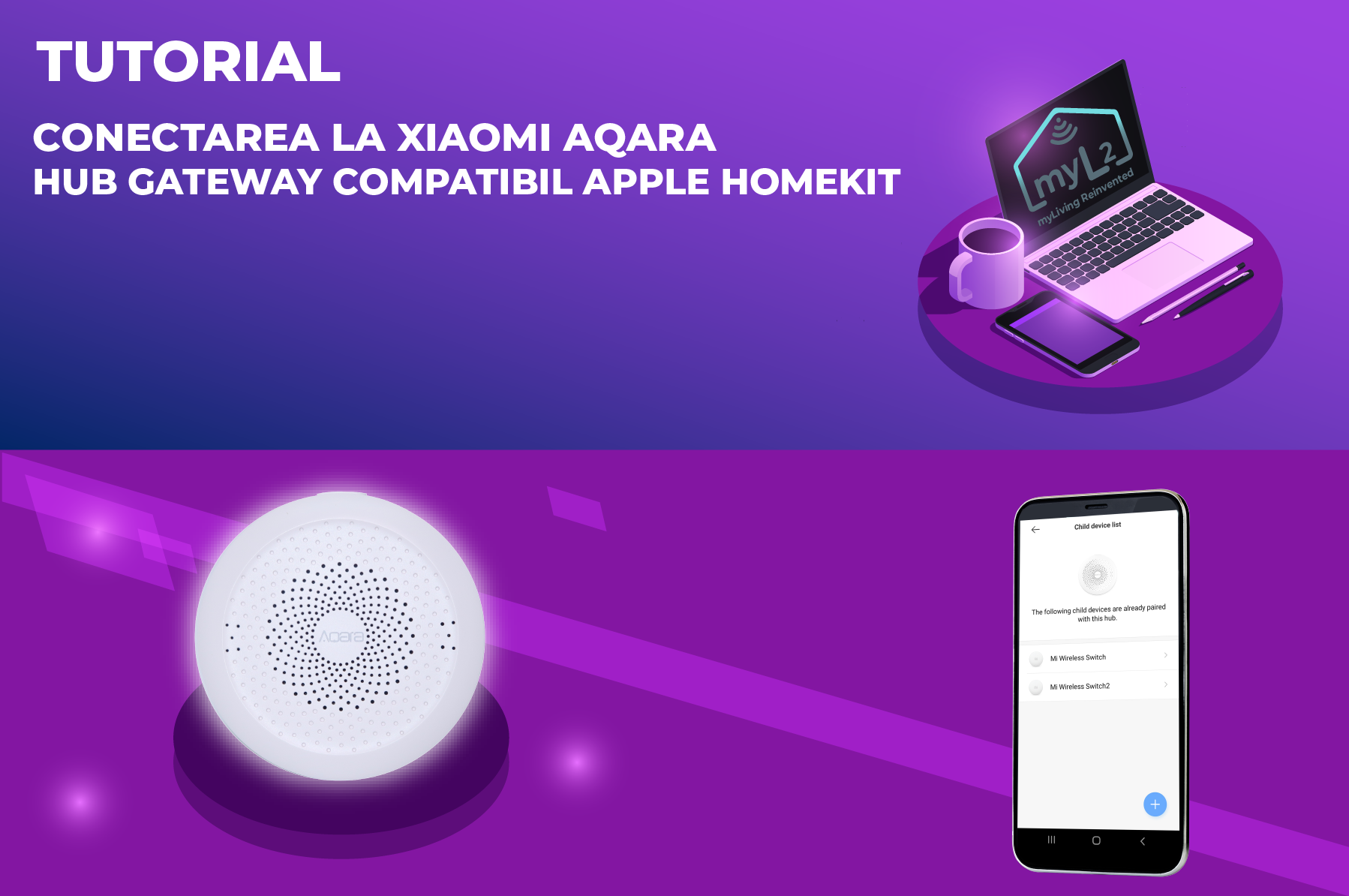 tutorial conectare hub gateway xiaomi aqara zigbee compatibil apple homekit