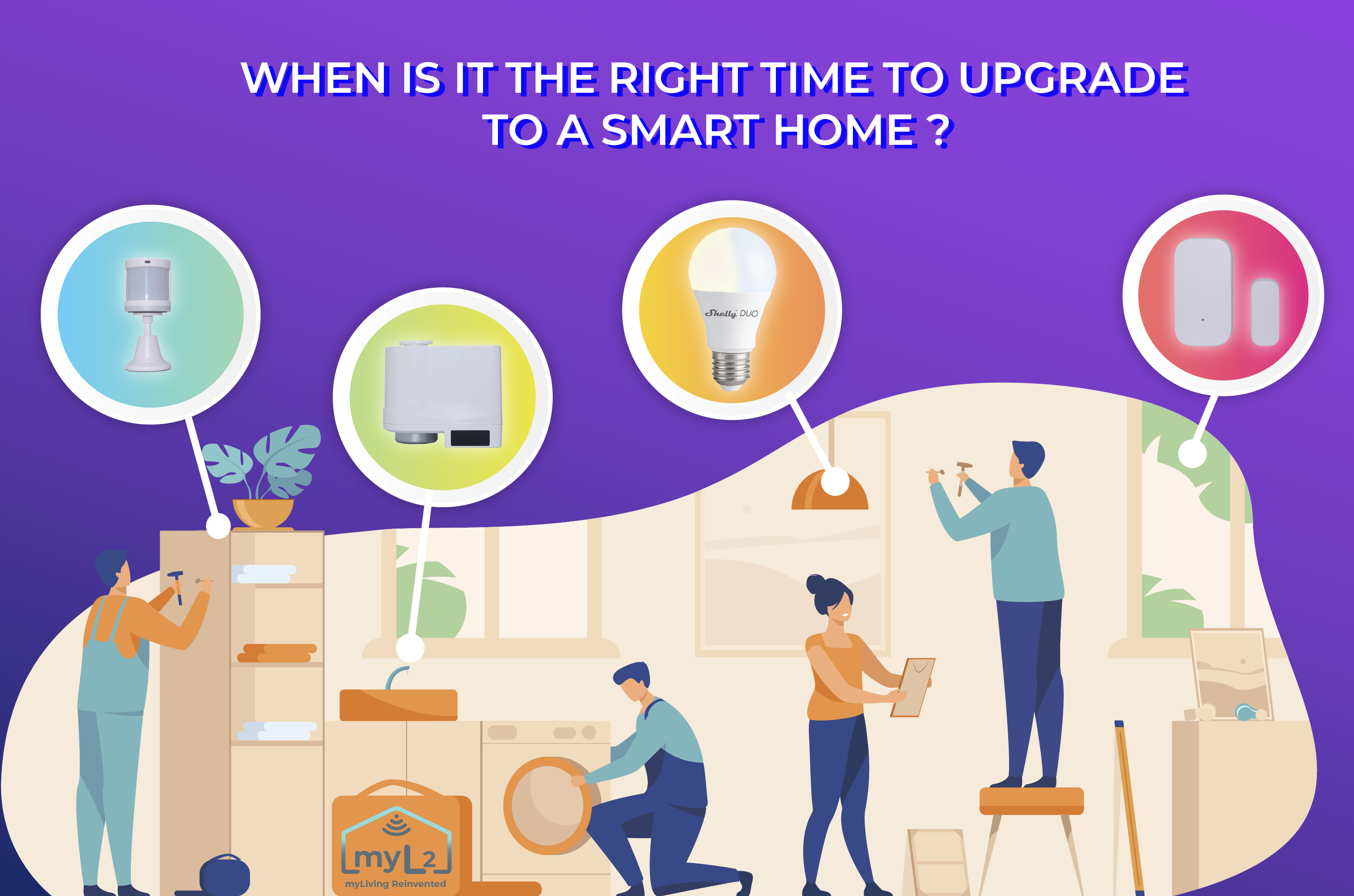 when it is the right time to upgrade to a smart home