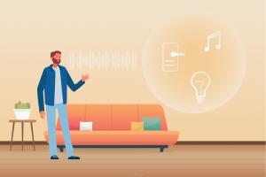 controlul vocal - mod simplu si distractiv de a comunica cu casa inteligenta