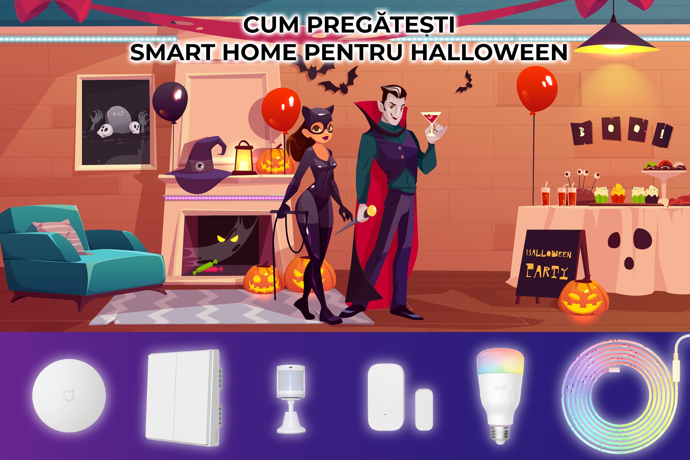 cum pregatesti smart home pentru halloween