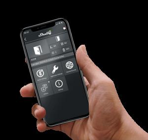 shelly door window senzor usa geam wifi aplicatie mobil