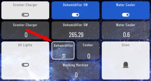 Cum faci un dezumidificator sa fie inteligent - Hubitat Dashboard
